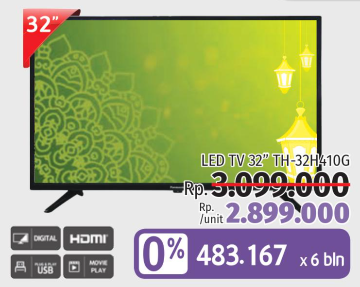 Promo Harga Tv Video Terbaru Minggu Ini | Hemat.id