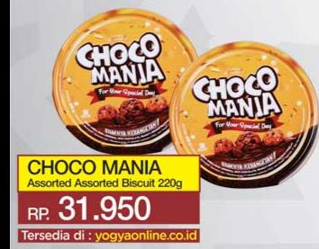 Promo Harga CHOCO MANIA Gift Pack 220 gr - Yogya