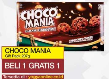 Promo Harga CHOCO MANIA Gift Pack 207 gr - Yogya