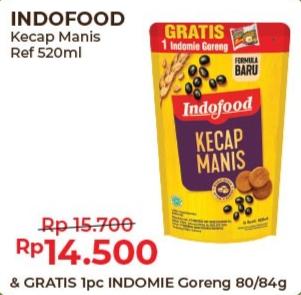 Promo Harga INDOFOOD Kecap Manis 520 ml - Alfamart