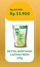 Promo Harga DETTOL Body Wash Lasting Fresh 450 ml - Indomaret