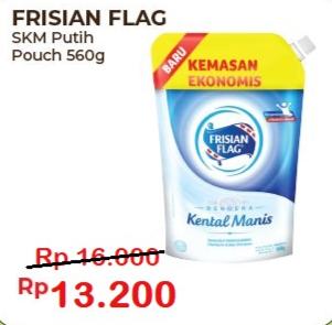 Promo Harga FRISIAN FLAG Susu Kental Manis Putih 560 gr - Alfamart