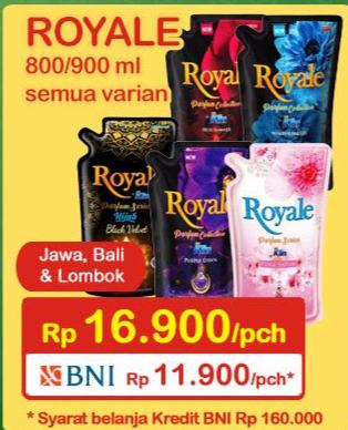 Promo Harga SO KLIN Royale Parfum Collection 800 ml - Indomaret
