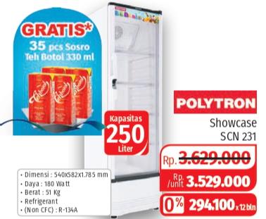 Promo Harga POLYTRON SCN-231  - Lotte Grosir
